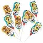 60er SET Osterhasen-Lolly 15 g, lose im Display / Schokolade Ostern Osterhase
