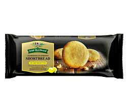 The Irish Shortbread Company Shortbread Zitrone 150 g / Butterkekse mit Zitronenextrakt